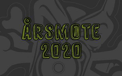 Innkalling til årsmøte 2020