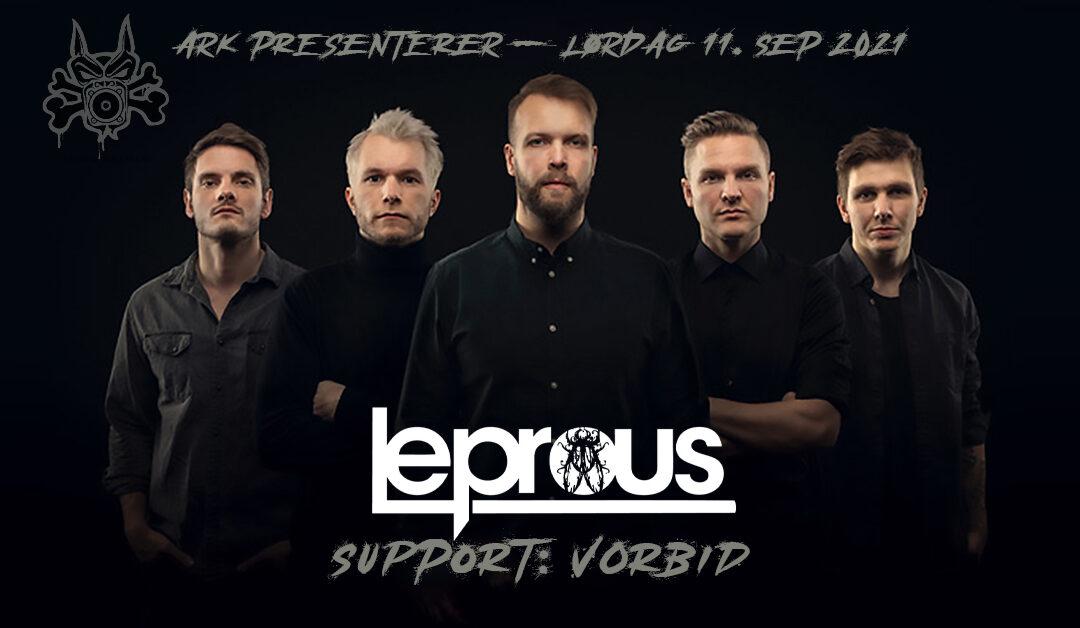 Leprous til Arendal! Og Vorbid teaser nytt album!